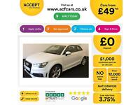 Audi A1 1.4 TFSI ( 122ps ) 2013MY S Line FROM £49 PER WEEK!