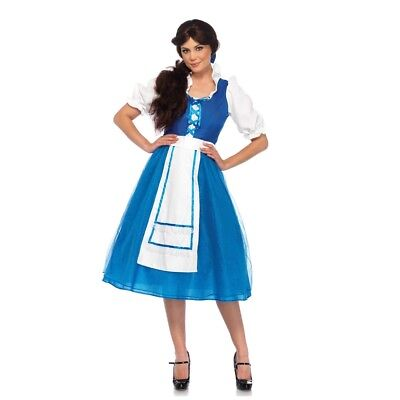 Storybook Village Beauty Adult Womens Costume, 85618, Leg Avenue, Belle ()