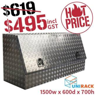 Ute Toolbox 1500W x 600D x 700H HUGE 20% off sale