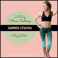 Summer Strong- 21 Day Fitness Challenge
