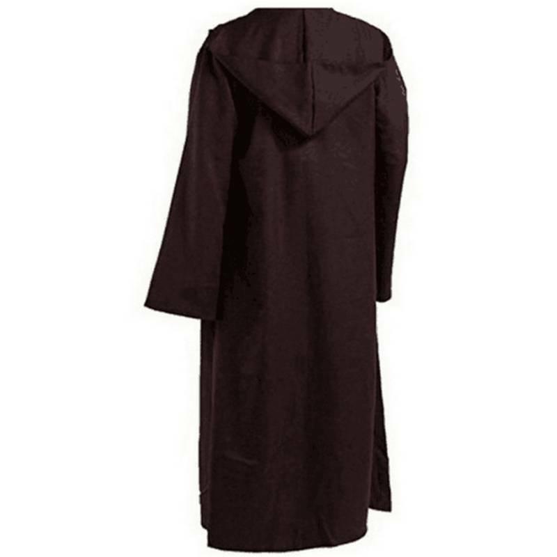 Star Wars Warrior Jedi Obi-wan Cloak Robe Men Cosplay Costume Party Fancy Dress Clothing, Shoes & Accessories