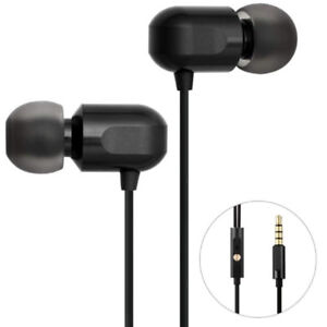 Ear Earphones with Mic High Clarity Earbuds Wired Noise Cancelli