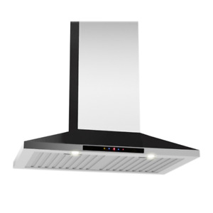 Range Hood Fan - Wall Mount - Stainless Steel