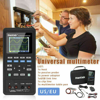 Hantek 2d72 Handheld 70mhz 3in1 Kit Oscilloscopewaveform Generatormultimeter