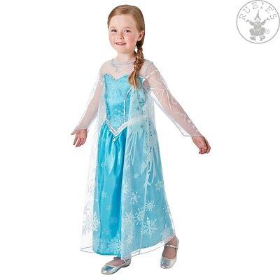 Elsa Frozen Deluxe Prinzessin Kostüm M L Disney Film Die Eiskönigin (Deluxe Eis Prinzessin Kostüm)