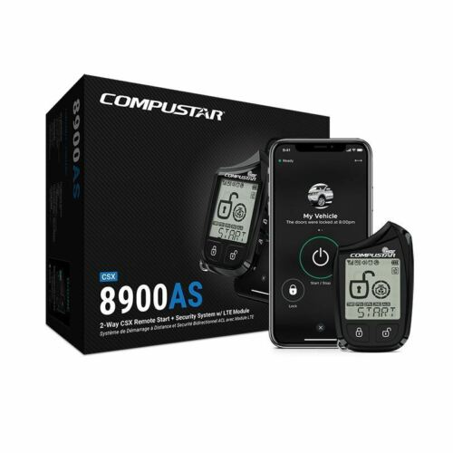 Compustar CSX8900-AS 2-Way CSX Remote Start + Security W/LTE Blade Ready W/DRONE