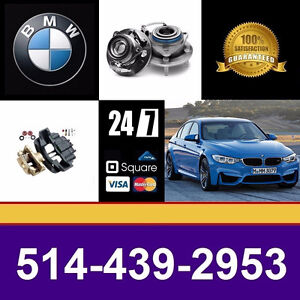 BMW 323i ■ Bearings, Calipers ► Roulements, Étriers