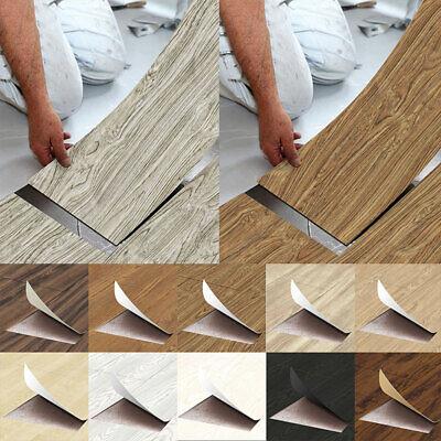Home Decoration - Self Adhesive Tile Floor Board Wall Sticker Wallpaper DIY Home Room Decor Vinyl