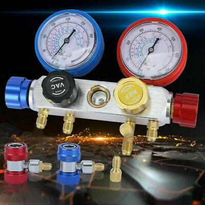 Ac Diagnostic Manifold Gauge Ac Tool Kit For R410a R22 R134a Refrigeration