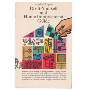 Vintage Reader's Digest Do-It-Yourself & Home Improvement Guide