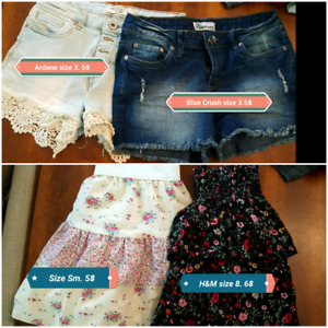 Teen/young adult girls clothing