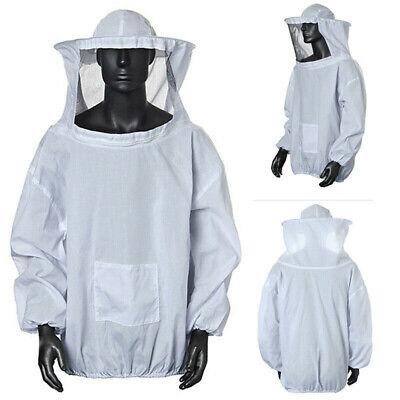 Beekeeper Smock Suit Protective Beekeeping Keeping Hat Veil Sleeve Equipment