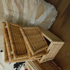 Free IKEA wicker baskets