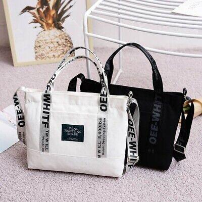 Damenmode Canvas Große Tote Handtasche Frauen Hohe Qualität Schulter Tote Bag DE