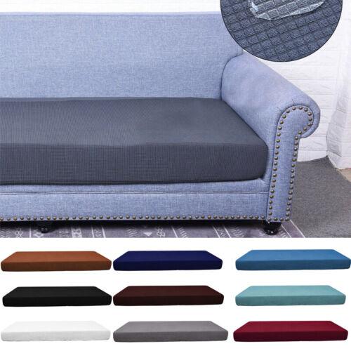 4 Seats Sofa Seat Cushion Covers Fabric