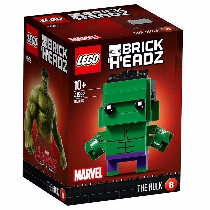 Lego BrickHeadz Hulk 41592: Brand New