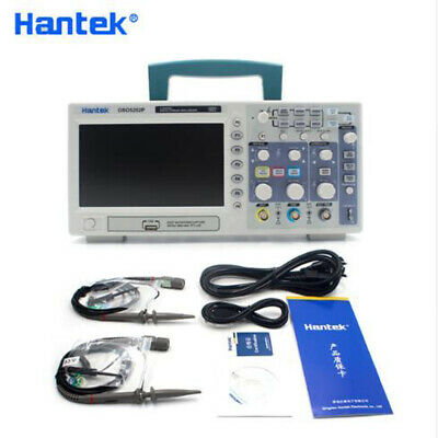 Hantek Dso5202p Digital Oscilloscope 200mhz Bandwidth 2 Channels 1gsas 7inch Us