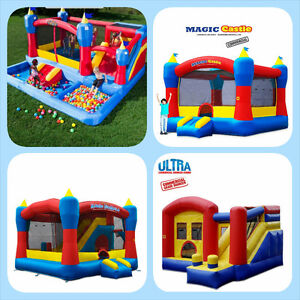JUMPING CASTLES, COTTON CANDY AND POPCORN MACHINE FOR RENT