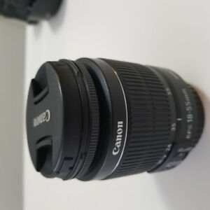 Canon Zoom Lens EF-S 18-55mm 1:3.5-5.6 IS II Camera Lens