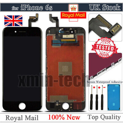 "For iPhone 6S 4.7"" Black LCD Display Touch Screen Digitizer Assembly Replacement"