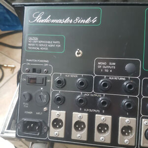 Studiomaster Mixing Board - ... Mint! (with road case)