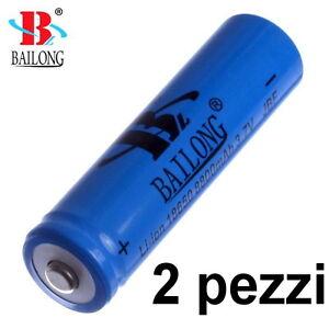 2-X-BATTERIA-18650-3-7V-8800mA-RICARICABILE-PILA-TORCIA-batterie-pile-AVVITATORE