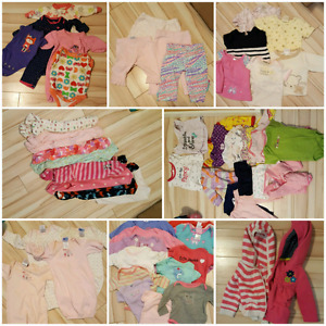 Girl clothes NB-3 months
