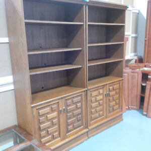 Lightly used wooden cabinet for $20 each!