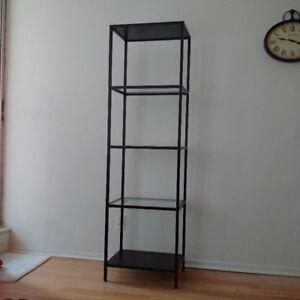Two Shelf units VITTSJO