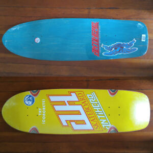 Anti Hero Jeff Grosso Strople Tribute skateboard deck