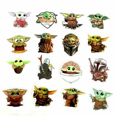 50 Pcs Yoda Stickers Funny The Mandalorian Baby Star Wars  Decor kids gift Cute