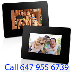 "Photo Frame Digital Sale From 7"" Built in Memory + SD Input"