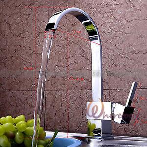Cromo ottone caldo fredda rubinetto con acqua tubo miscelatore lavello cucina - Miscelatore cucina perde acqua ...
