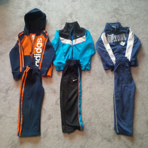 3 Boys Tracksuits for $20 - Size 4 - incl Toronto Maple Leafs