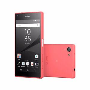 Sony Xperia Z5 Compact Unlocked Coral Red Excellent Condition