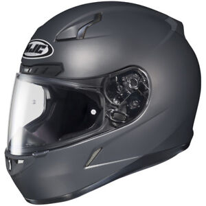 HJC Helmet CL-17 Mat Grey (Anthracite) size Large - Brand new