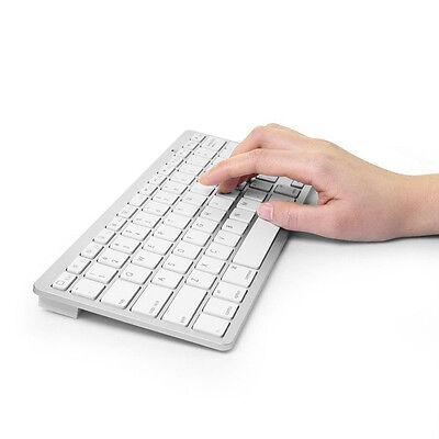 Bluetooth 3.0 Wireless Keyboard for Apple iPad-1 1 2 3 4 Mac