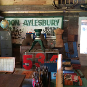 EPIC BARN SALE IN BOBCAYGEON! Vintage / Industrial / Antiques Kawartha Lakes Peterborough Area image 4