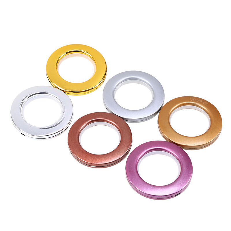 Plastic Curtain Eyelets And Rings Tape Buckle Clips