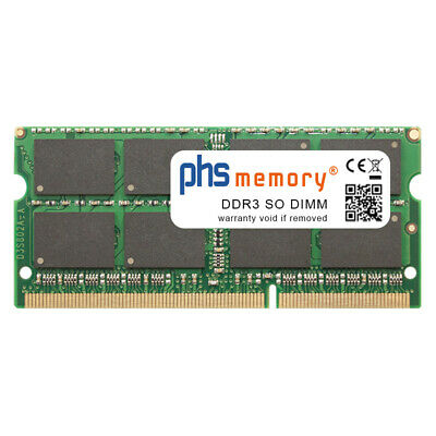 8GB RAM DDR3 passend für Acer Aspire R3-471T-56L8 SO DIMM 1600MHz Notebook-