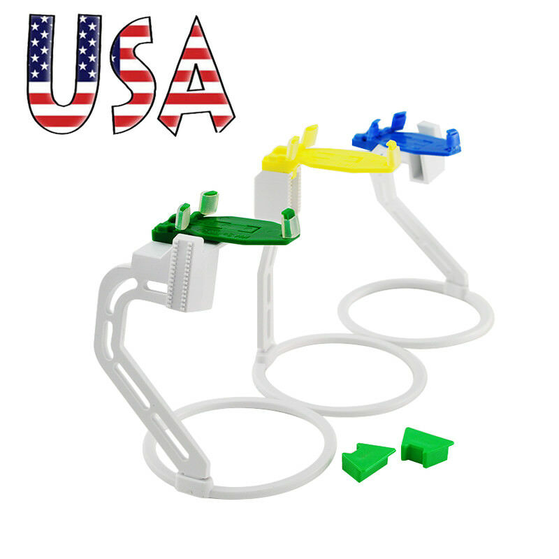 USA Dental X-Ray Film Sensor Positining System Kit Positioner Holders 3pcs/Set