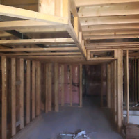 Basement Framing and Residential Carpentry services