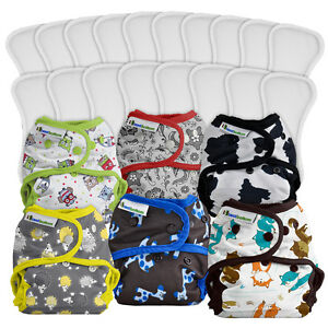 Best Bottom cloth diaper pack - 18 changes! London Ontario image 2