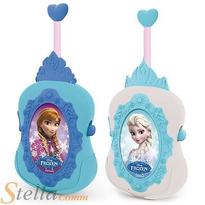 Disney Frozen Anna Elsa Princess Walkie Talkies Radio Kids Christmas Toys