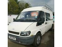 FORD TRANSIT VAN WITH WINDOWS IDEAL CAMPER CONVERSION DAY VAN
