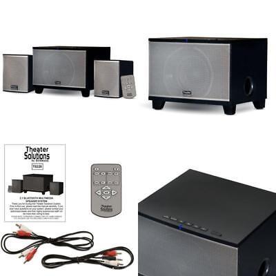 Best Stereo Bass System Home Audio Shelf Sound Speakers Wireless Bluetooth 2.1