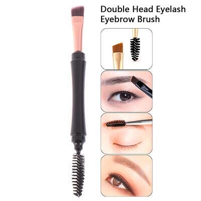 1 X Pinsel (1X Beauty Makeup Augenbrauenpinsel Wimpern Doppelpinsel Augenbrauen Kamm Ma CBL)