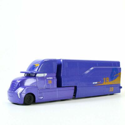 Car Movie Cars - Disney Pixar Movie Cars 3 Diecast #19 Danny Swervez Truck 1:55 Loose Toy Car