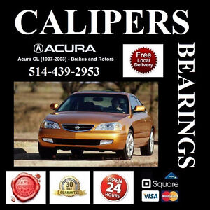 Acura CL ■ Roulements, Étriers ► Bearings, Calipers