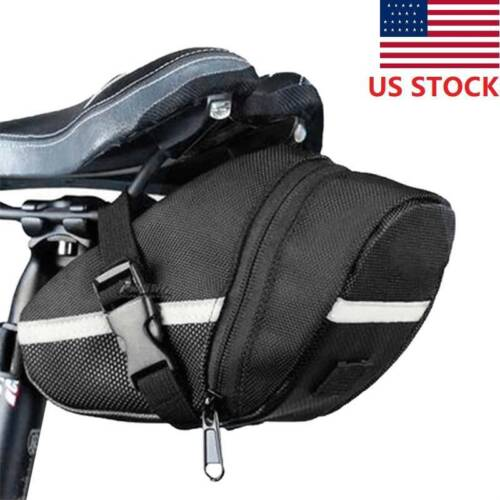 bicycle storage saddle bag mountain bike seat